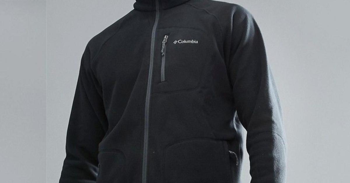 man in black zip fleece jacket