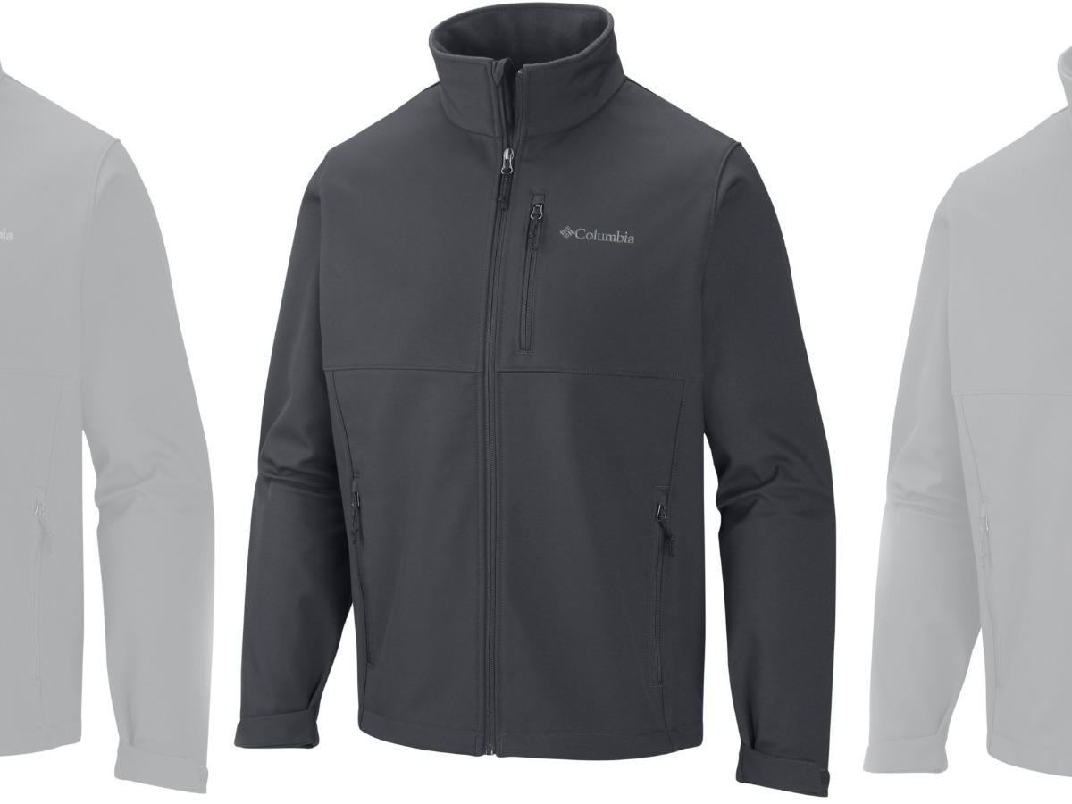 Dark gray men's jacket