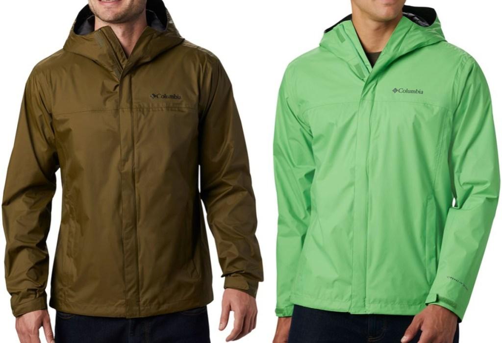Columbia Men's Watertight II Jackets on models