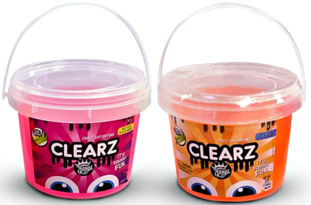 Compound Kings 2-Pack of 3lb Clearz Slime Buckets