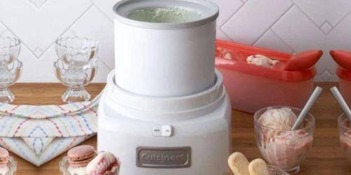 Cuisinart Ice Cream & Frozen Yogurt Maker Just $39.99 Shipped (Regularly $70)