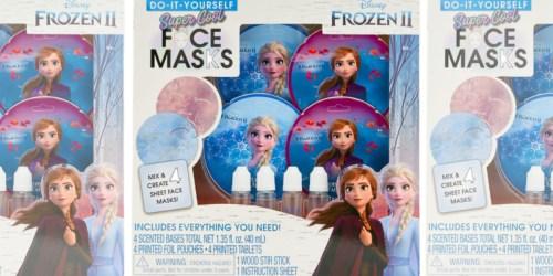 Disney Frozen 2 Face Masks Kit Only $3 (Regularly $24)