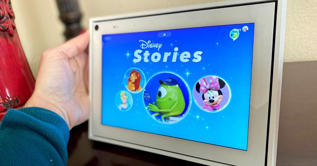 Disney Stories app on Facebook Portal