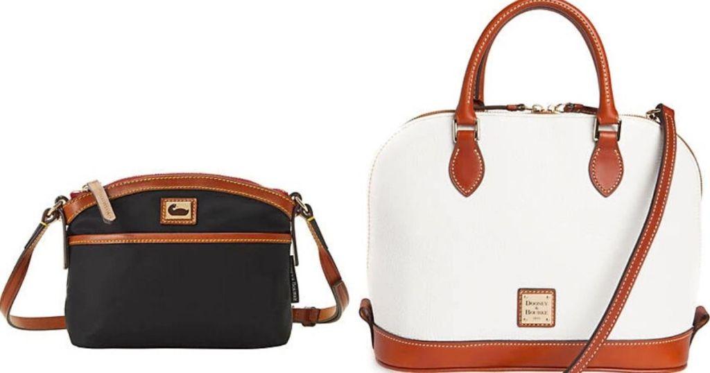 Two Dooney and Bourke Handbags