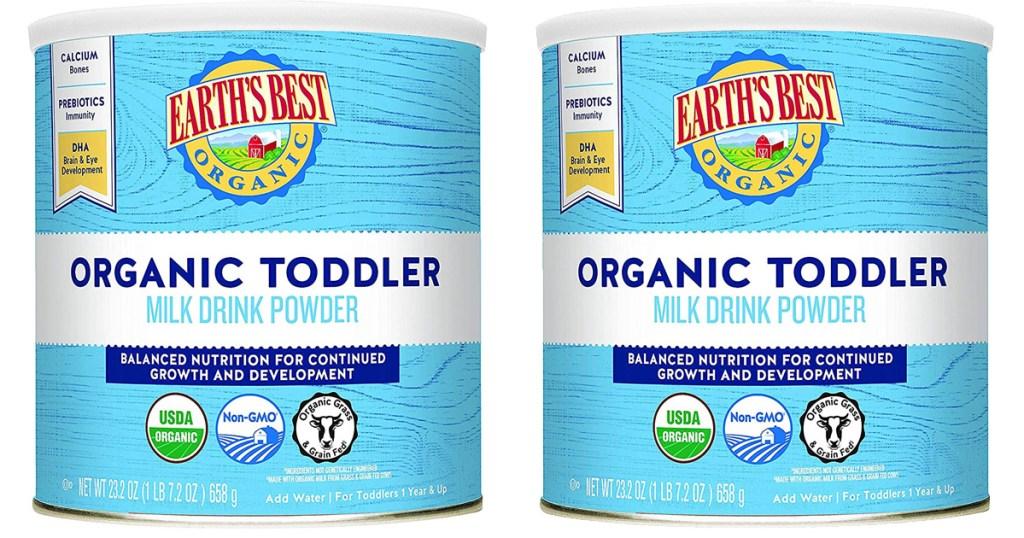 Earth's Best Organic Toddler Milk Drink Powder