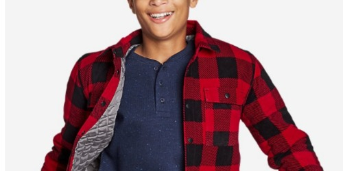 Up to 80% Off Eddie Bauer Kids Apparel + Free Shipping