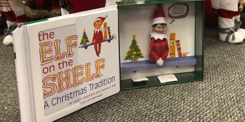 Elf on the Shelf Book & Elf Set Only $11.99 on Kohl's.com (Regularly $30) + Free Shipping for Cardholders