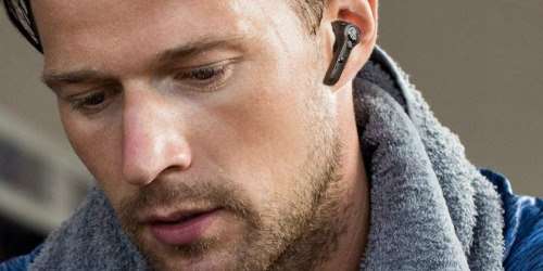 Wireless Bluetooth Noise-Cancelling Earbuds w/ Charging Case Only $19.99 Shipped on Amazon