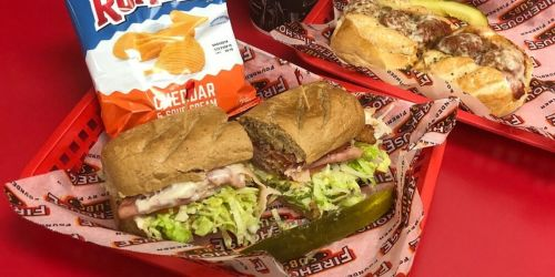 FREE Firehouse Subs Medium Sub w/ Meal Purchase | Valid 6/20 Only
