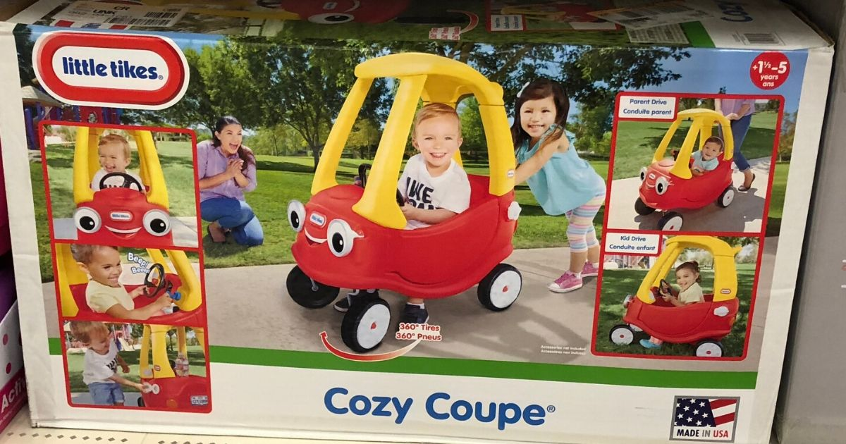 fisher price cozy coupe toy