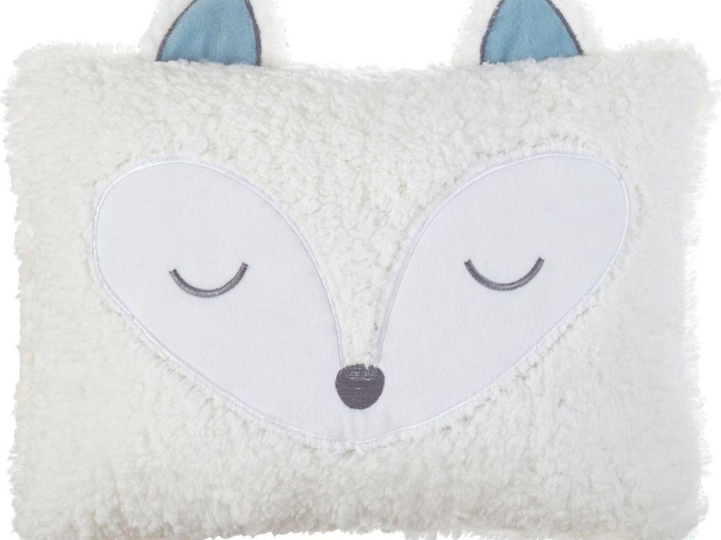 Rectangular Fox Pillow
