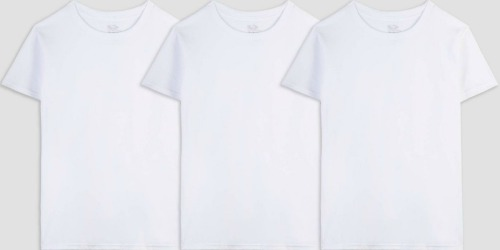 Fruit of the Loom Boys 6-Pack Shirts Only $7.64 on Target