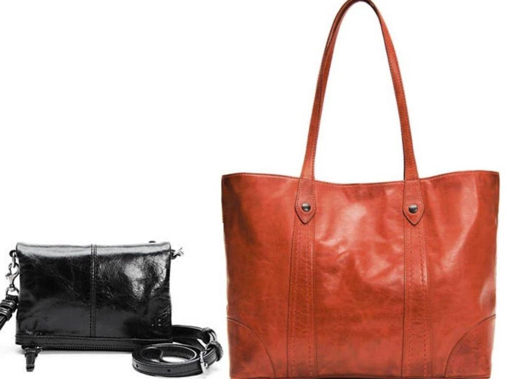 two frye handbags