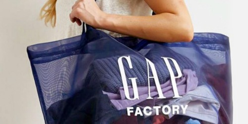 Up to 85% Off GAP Factory Apparel