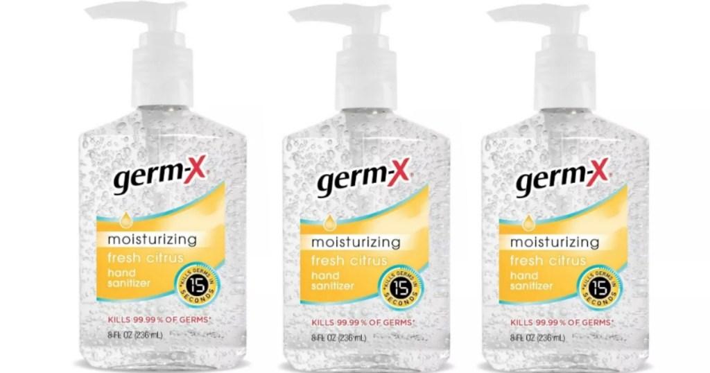 Germ X Hand Sanitizers