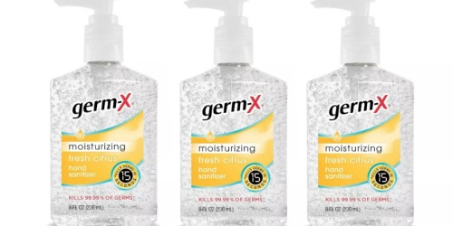 Germ-X Hand Sanitizer Only $1.99 on Target.com | In Stock NOW