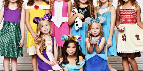 Disney Princess-Inspired Dresses Just $16.97 Shipped Each (Regularly $30) | 35 Design Choices