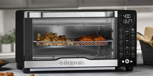 Gourmia Digital Toaster Oven Air Fryer as Low as $48.99 Shipped + Earn $10 Kohl's Cash