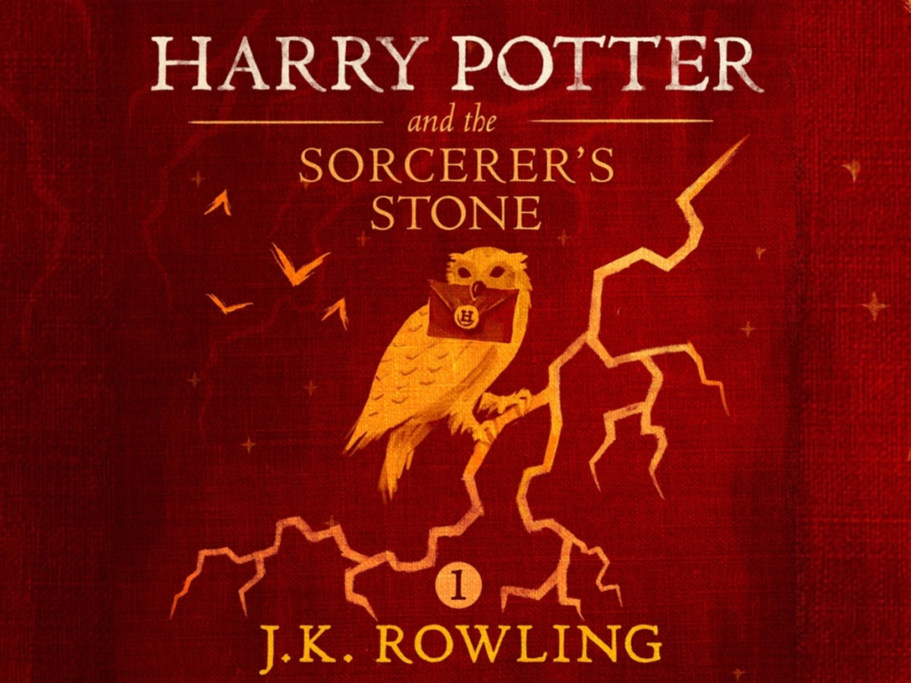 Harry Potter book 1 cover art