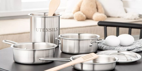 Hearth & Hand 7-Piece Toy Cookware Set Just $12.49 on Target.com (Regularly $25)