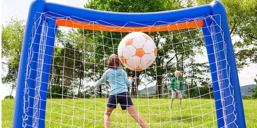 HearthSong Giant Inflatable Soccer Set Only $24.99 on Zulily (Regularly $40)