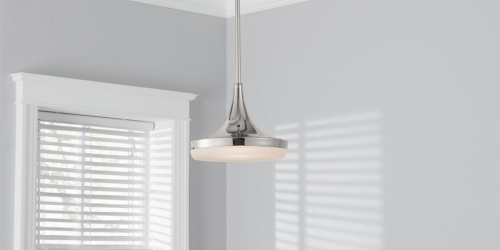 LED Pendant Light Only $25 Shipped (Regularly $67) | Up to 80% Off Light Fixtures on HomeDepot.com