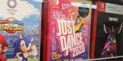 Just Dance 2020 Nintendo Switch Game Only $19.99 (Regularly $40)