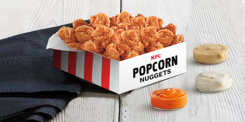 Extra-Large Serving of KFC Popcorn Nuggets Just $10 (Includes About 70 Pieces!)