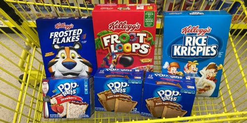 Kellogg's Favorites as Low as $5.98 Shipped on Sam's Club | Pop-Tarts, Rice Krispies Treats & More