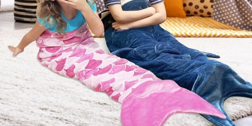 Kids Mermaid or Shark Weighted Blankets Just $29.98 on Sam's Club (Regularly $60)