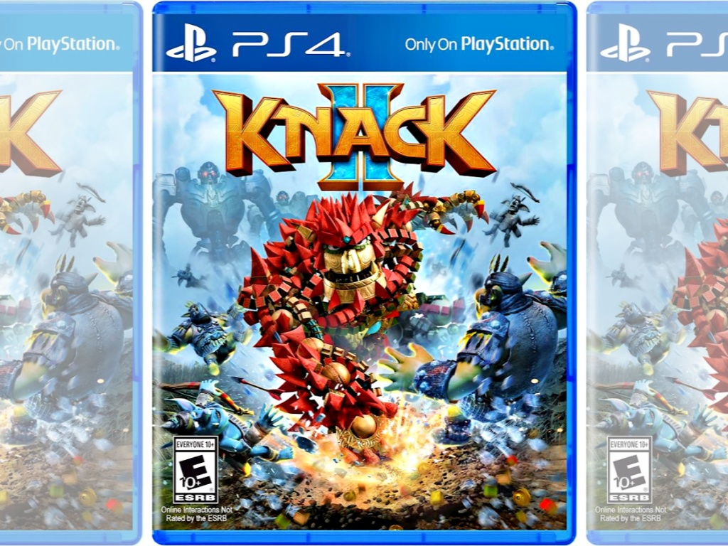 Knack 2 PlayStation 4 Game in box