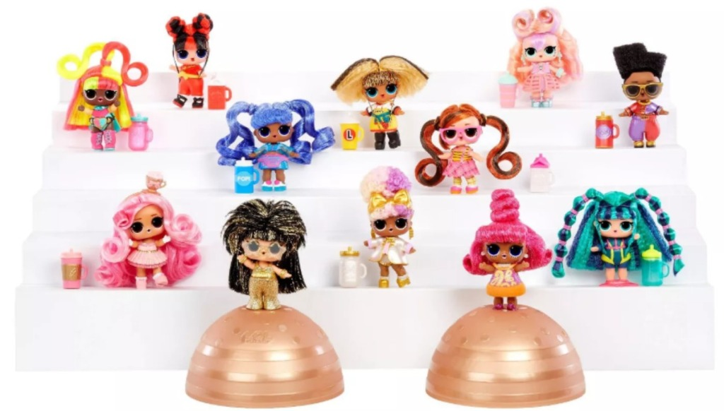 L.O.L. Surprise! Hairvibes Dolls with their accessories
