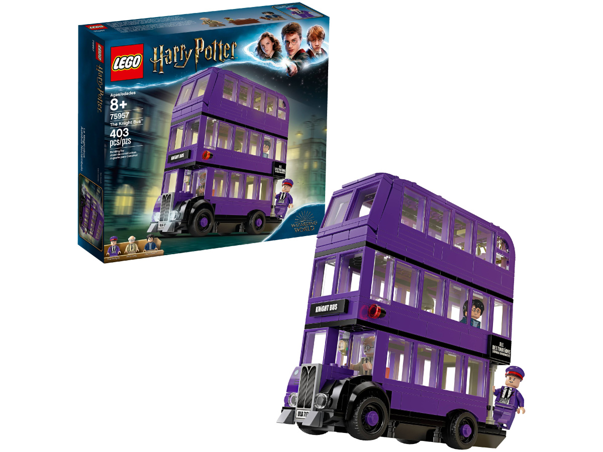 LEGO Harry Potter The Knight Tripple Decker Bus 403-Piece Building Kit