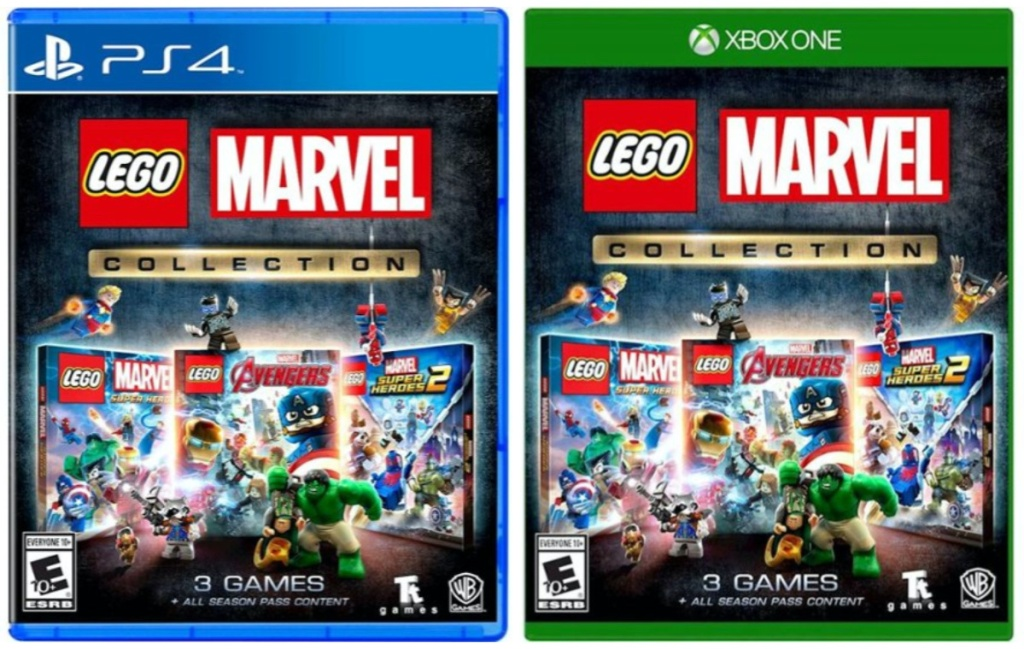 two lego marvel video games