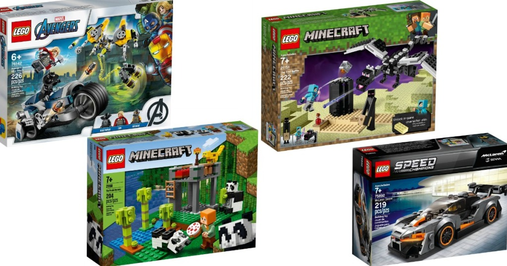 four LEGO sets