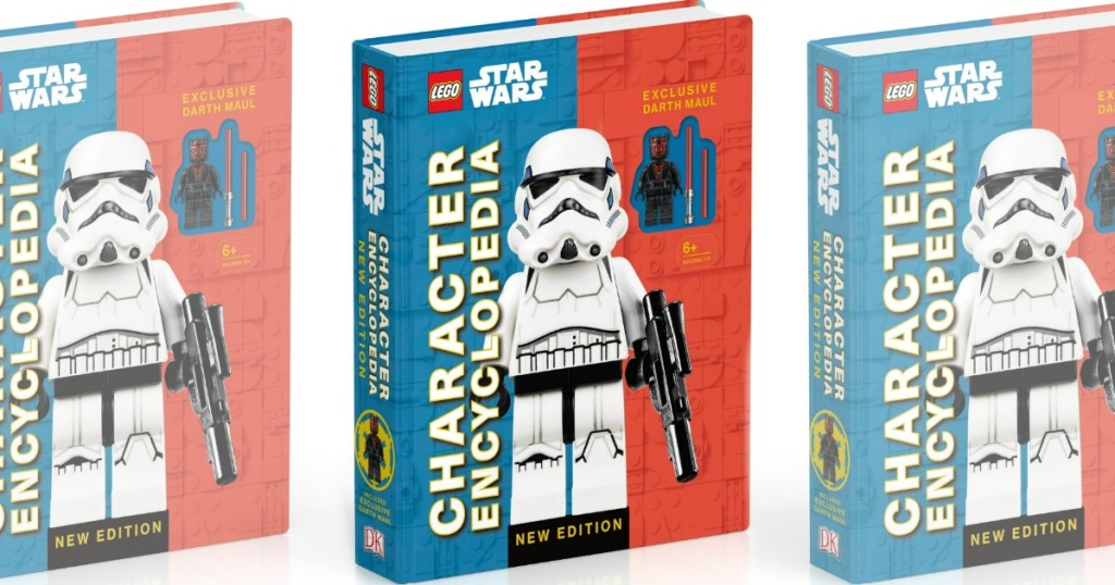 three LEGO Star Wars books