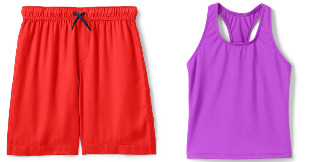 Boys Shorts and girls tank