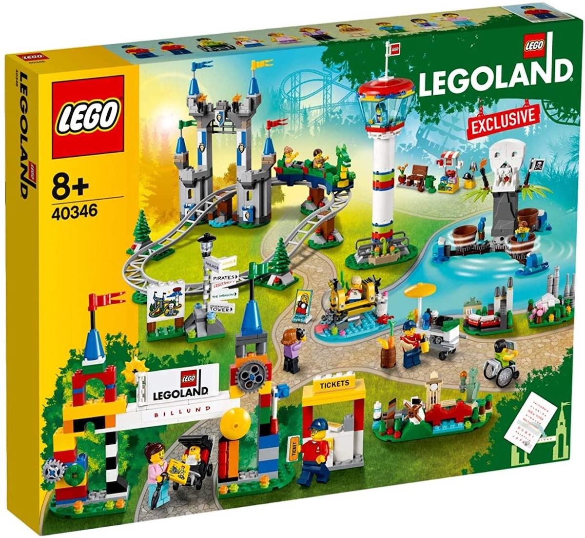 box of lego landland building set