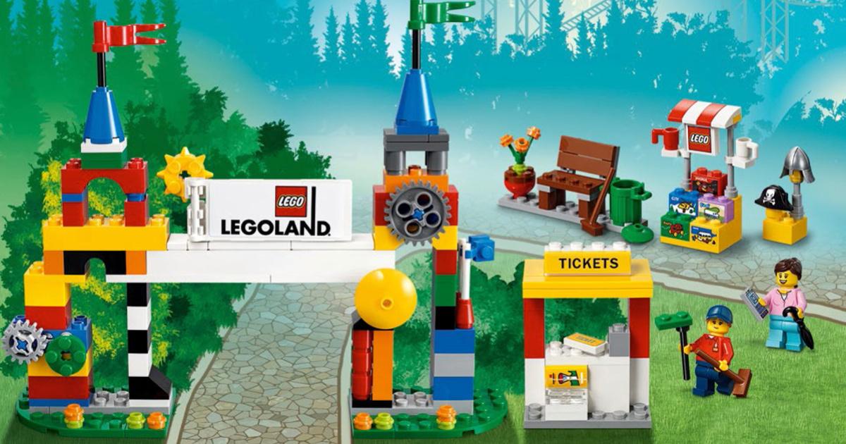 California Legoland Set built