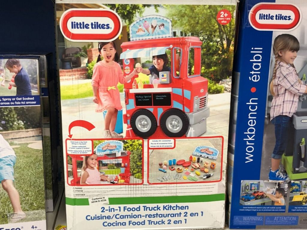 Little Tikes food truck toy