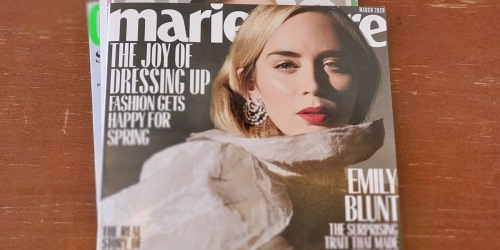 FREE Two-Year Marie Claire Magazine Subscription