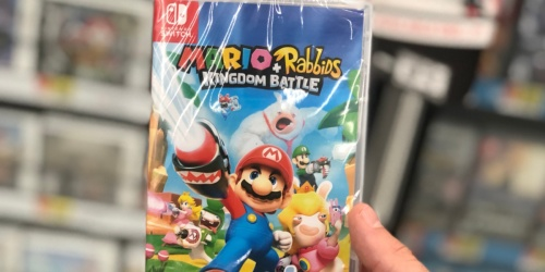 Mario + Rabbids Kingdom Battle Nintendo Switch Game Only $14.99 (Regularly $60)
