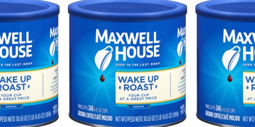 BIG Maxwell House Ground Coffee Tin Only $4.74 Shipped on Amazon