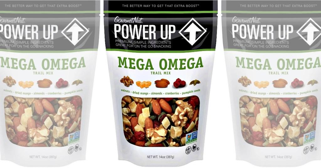 Mega Omega Power Up Trail Mix Bag