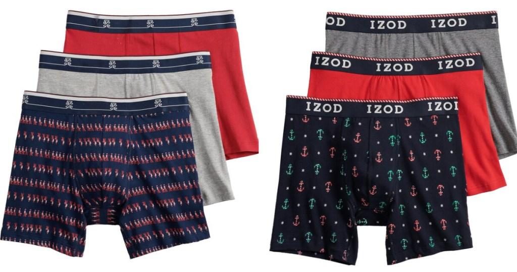 Men's Izod Boxer Briefs