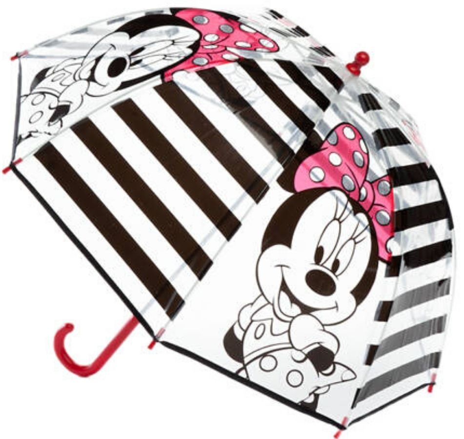 kids clear plastic minnie mouse umbrella