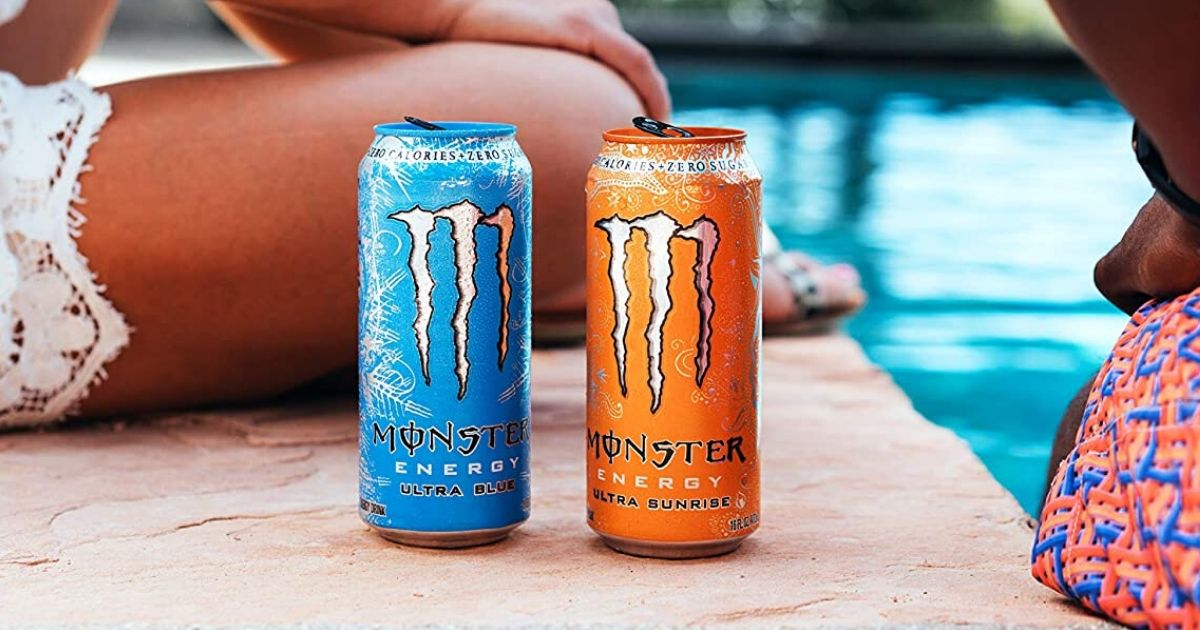 Monster Energy Drink 24 Packs Just 25 64 Shipped On Amazon Hip2save
