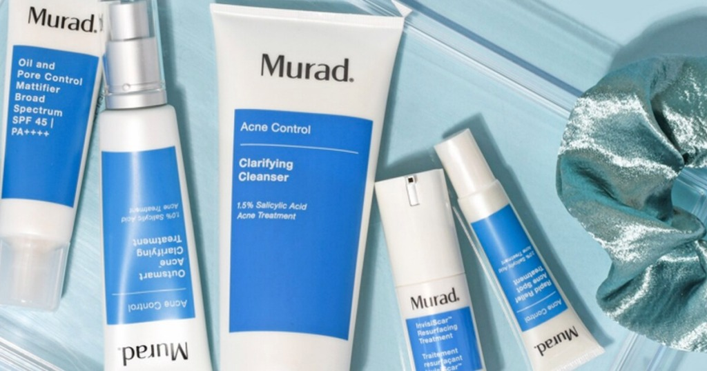 Murad cleanser products