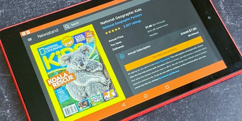National Geographic Kids Kindle Edition 1-Year Subscription Only $7 (Regularly $20)