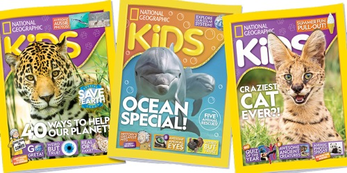 GO! National Geographic Kids Magazine 6-Month Subscription Only $10 for Amazon Prime Members
